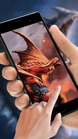 android wallpaper cryptic dragon