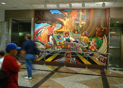 denver international airport murals removed denver international airport paul l dineen flickr