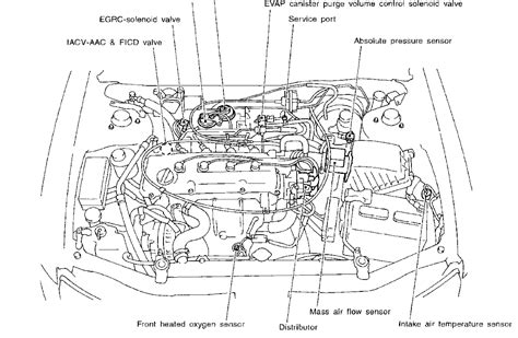 1999 Nissan Sentra Engine Schematic by I A Problem With A 1998 Nissan Altima It Won T