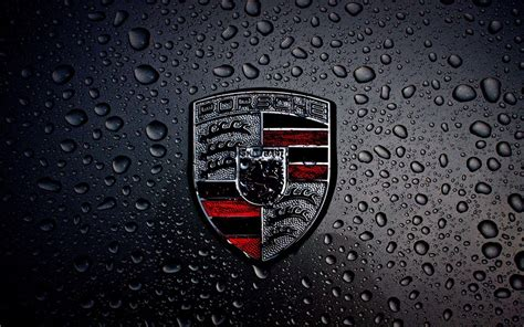 porsche logo black background porsche desktop wallpapers wallpaper cave