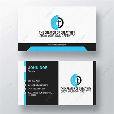 business card design png template  template