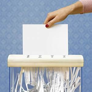 6 documents you need to shred right now good housekeeping With where can i get documents shredded
