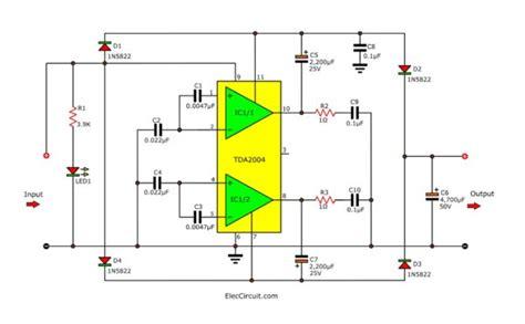 Volt Converter Circuits Eleccircuit