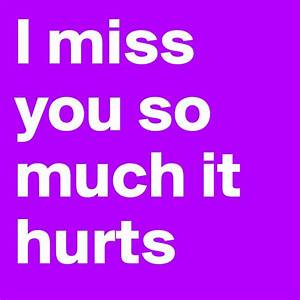 I Miss You So Much It Hurts Pictures   Wallpaper sportstle
