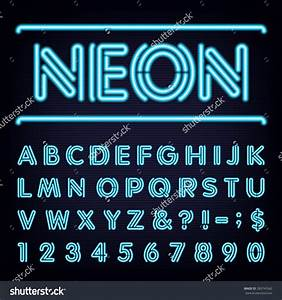 neon font forum dafontcom With neon tube letters