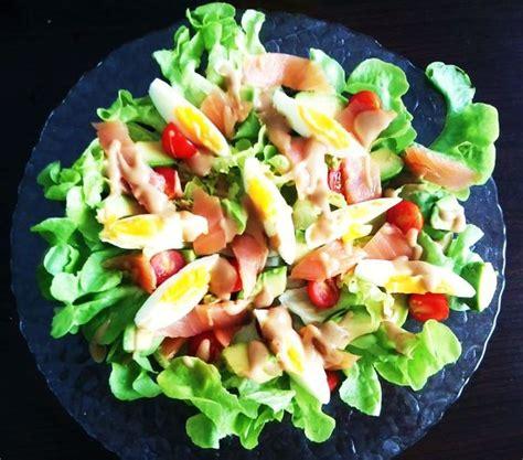 recette de cuisine pour l hiver salade avocat saumon magali g