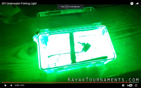 homemade underwater fishing lights diy stand alone underwater fishing light