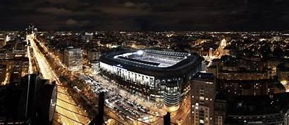 Madrid Santiago Stadium Bernabeu Background Widescreen Estadio