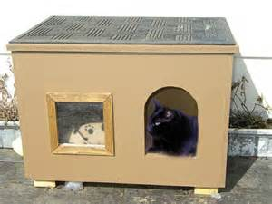how to build a cat house lilo post outdoor cat house photos