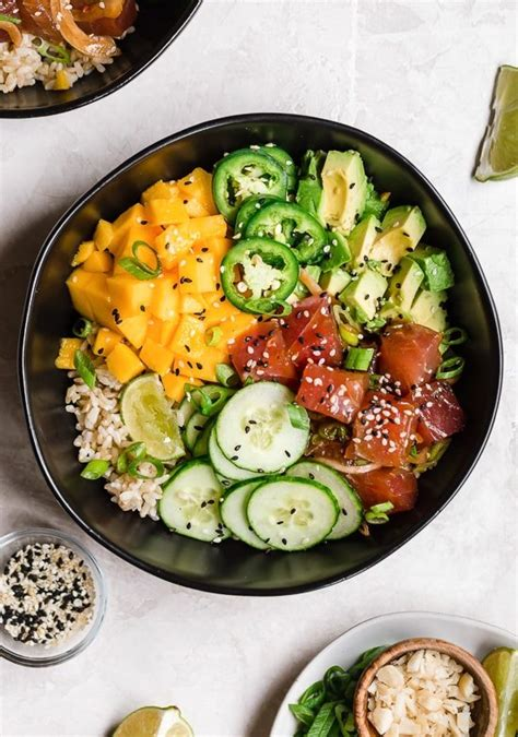 ahi poke bowl health smart recipes