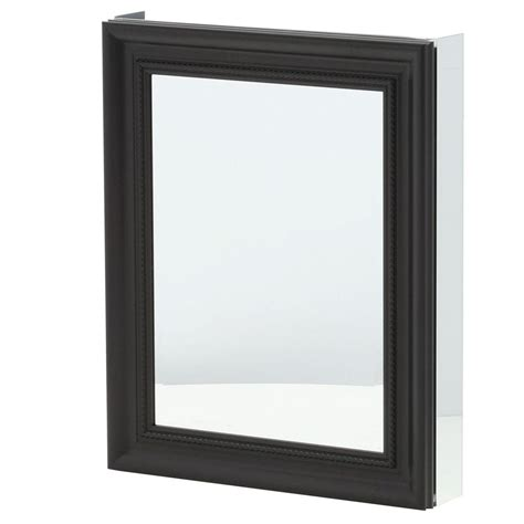 Recessed Medicine Cabinet Espresso Home Depot by Pegasus 24 In X 30 In Framed Recessed Or Surface Mount