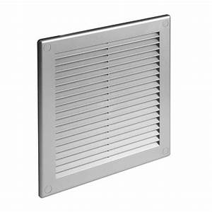 Satin Ducting Ventilation Cover Grey Wall Air Vent Grille