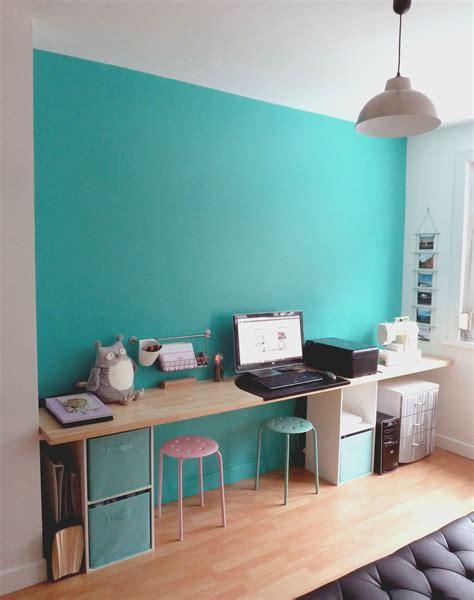 bureau dans lequel  aime travailler  air  deco