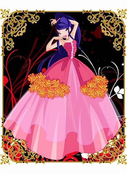 Winx Club Musa Flower Princess Princesses Dresses