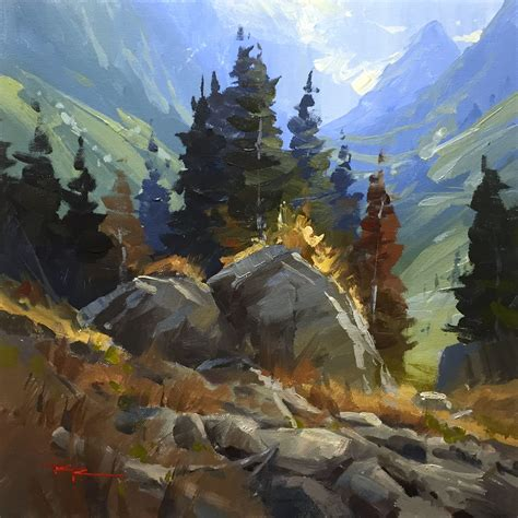 The French Alps, Online Painting Lessons