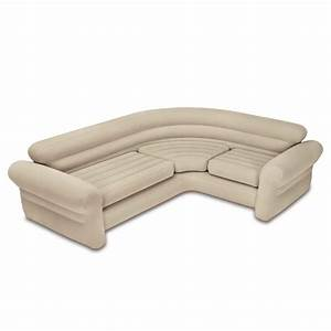 Inflatable Air Couch Sofa Bed Corner Folding Travel