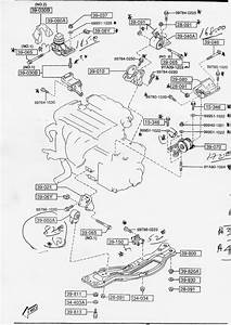 How Many Motor Mounts  - 1993-2002  2 5l  V6