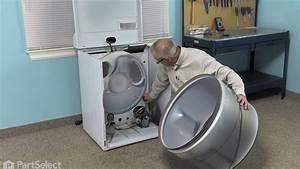 Dryer Repair  U2013 Replacing The Motor Pulley  Whirlpool Part