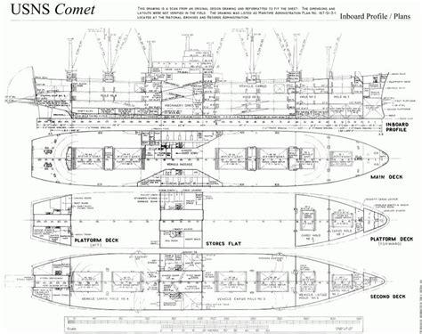 free ship plans usns comet deck plans cargo vessel ship c3 skip og b 229 ter i 2019 wood
