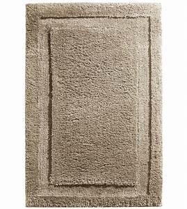 Microfiber spa and bath rug in bathroom rugs for Bathroom carpet top view