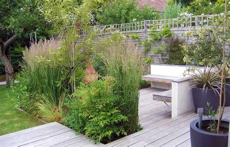 Schmaler Garten Gestalten by Small Narrow Garden Design Ideas Wooden Decking Like The