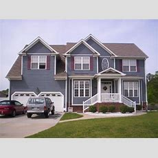 Bloombety  Best Exterior House Color Schemes House Color