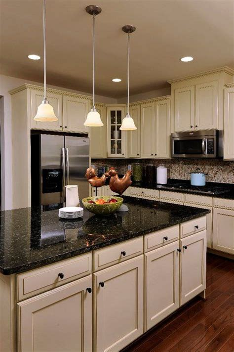 white kitchen island with black granite top the new house in 2018 kitchen kitchen 2217