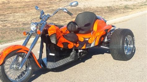 New 2015 Motorcycle Trike, Custom Trike, Chopper Trike, Vw