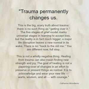 past trauma quo... Traumatic Past Quotes