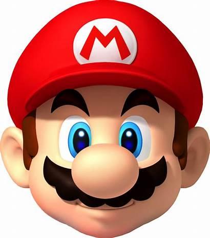 Transparent Mario Head Clipart Nintendo Japan Card