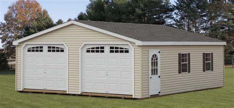 prefab 2 car garage 2 car garages sheds garages