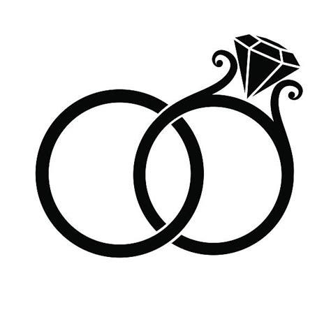 wedding ring clip vector illustrations istock
