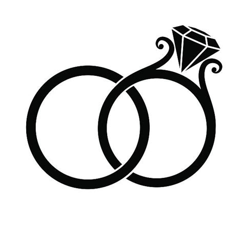 wedding ring clip art vector images illustrations istock