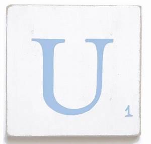 Lettre Decorative A Poser : lettre d corative poser bleu ~ Dailycaller-alerts.com Idées de Décoration