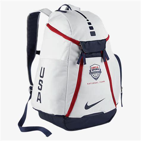 backpack nike elite usa basketball nike hoops elite max air team usa backpack sportfits