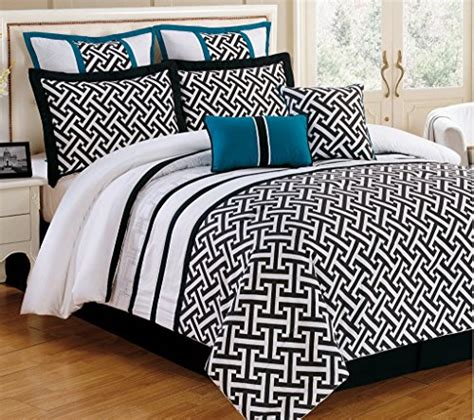 Black And Aqua Bedding by Turquoise And Black Bedding And Comforter Sets
