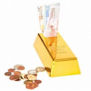 Goldbarren Auf Rechnung : goldbarren spardose gelddose in goldfarbener hochglanzoptik ~ Themetempest.com Abrechnung