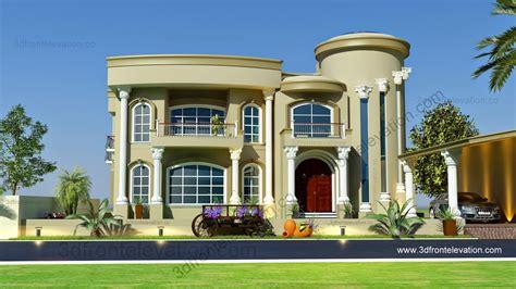 villa house plans beautiful villa design 3d elevation 3d front elevation