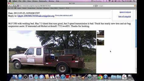 craigslist victoria tx  cars  trucks  sale