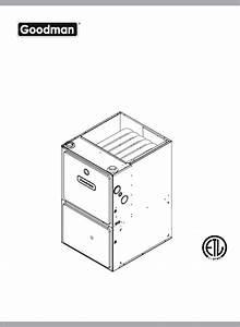 Goodman Mfg Furnace Gmh95 User Guide