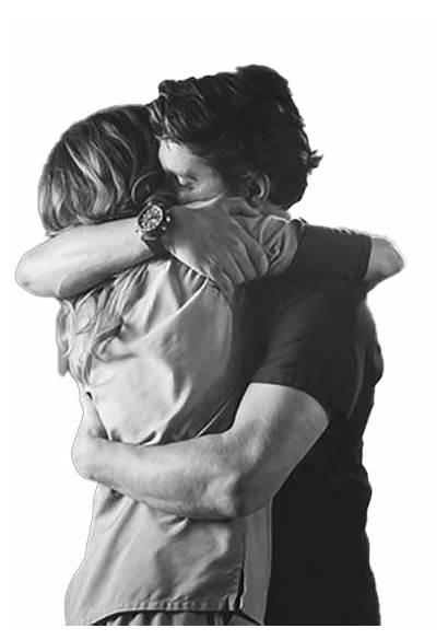 Hug Couple Friend Transparent Background Hugging Girlfriend