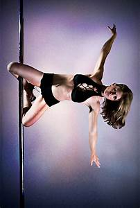 Pole Art - Knee hold | Pole dancing is becoming more and ...
