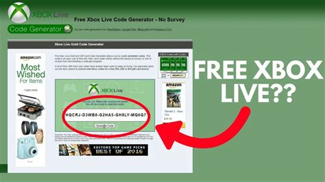 mm xbox live code redeeming free xbox live codes does it actually work