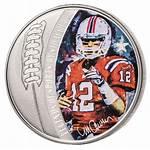 Brady Solomon Tom Islands Sports Coin Legends
