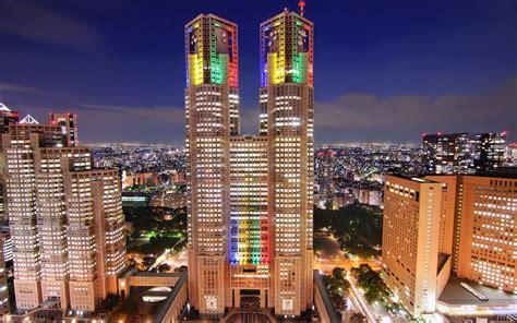 Japan, Tokyo, Metropole, Wolkenkratzer, Nacht, Die Lichter