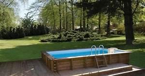 Dimension Piscine Hors Sol : la piscine en kit semi enterr e version conomique de la piscine semi enterr e ~ Melissatoandfro.com Idées de Décoration