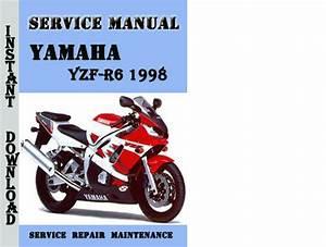 Yamaha Yzf-r6 1998 Service Repair Manual Pdf Download