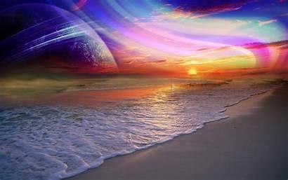 Rainbow Desktop Wallpapers Downloads Backgrounds Sunset Scenery