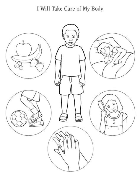 human body coloring pages    print