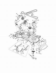 917 276841 Craftsman Lawn Tractor 24 Hp 48 Inch Mower